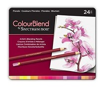 Spectrum Noir Spectrum Colourblend Pencils Florals (24pc) (SPECCB-FLO24)