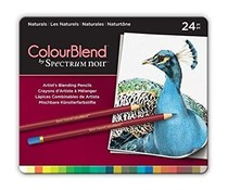Spectrum Noir Spectrum Colourblend Pencils Naturals (24pc) (SPECCB-NAT24)