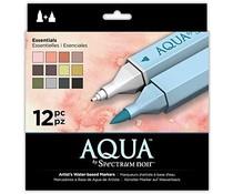 Spectrum Noir Spectrum Aqua Markers Essentials (12pk) (SPECN-AQ12-ESS)