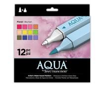 Spectrum Noir Spectrum Aqua Markers Floral (12pk) (SPECN-AQ12-FLO)