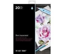 Spectrum Noir Spectrum Noir 9x12 Inch Premium Watercolour Paper Pad (SPECN-WPAD9)