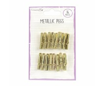 Dovecraft Metallic Pegs Gold (DCBS171)