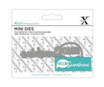 Xcut Mini Sentiment Die Hello Sunshine (XCU 504123)