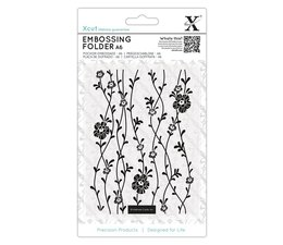 Xcut A6 Embossing Folder Blossom Vines (XCU 515232)