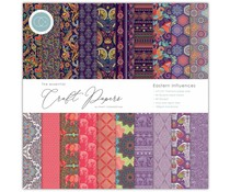 Craft Consortium Essential Craft Papers 12x12 Inch Paper Pad Eastern Influences (CCEPAD002)