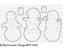 My Favorite Things Frosty Friends Die-Namics (MFT-1410)