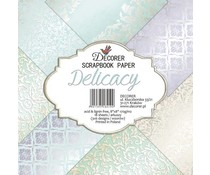 Decorer Delicacy 8x8 Inch Paper Pack (DECOR-B21-419)