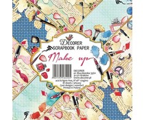 Decorer Make Up 8x8 Inch Paper Pack (DECOR-B22-420)