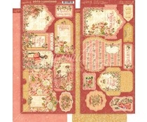 Graphic 45 Princess Tags & Pockets (4501802)