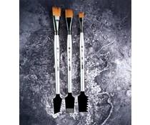 Finnabair Art Basics Double-Sided Texture Brushes (963873)