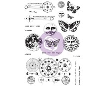Prima Marketing Art Daily Planner Cling Stamps Dream Without Fear (964931)