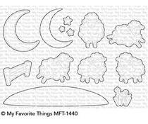 My Favorite Things Over the Moon for Ewe Die-Namics (MFT-1440)