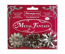Stamperia Metal Fantasy Flowers (SBA380)