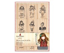Gorjuss Wooden Stamp & Ink Set (GOR 907422)