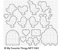 My Favorite Things Tweethearts Die-Namics (MFT-1461)