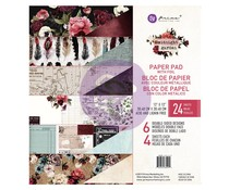 Prima Marketing Midnight Garden 12x12 Inch Paper Pad (635992)
