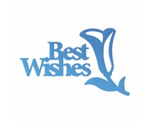 Couture Creations Best Wishes Sentiment Mini Die (CO726087)