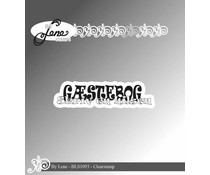 By Lene Danish Text 7 Clear Stamps (BLS1093)
