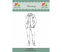 Dixi Craft Boys Outfit Clear Stamp (STAMPL057)