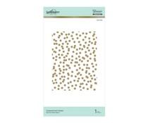 Spellbinders Scattered Dot Pattern Hot Foil Plate (GLP-075)