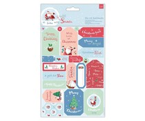 Papermania At Home with Santa Die-Cut Sentiments & Toppers (PMA 157980)