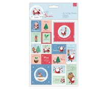 Papermania At Home with Santa A5 Postage Stamps (PMA 157981)
