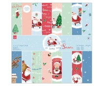 Papermania At Home with Santa 12 x12 Inch Paper Pack (PMA 160961)