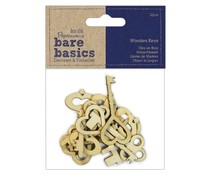 Papermania Wooden Keys (PMA 174731)