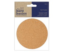 Papermania Cork Coasters (PMA 174815)