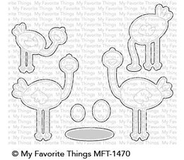 My Favorite Things Oh My Gostrich Die-Namics (MFT-1470)