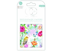 Craft Consortium Garden Delights Decoupage Papers (CCDECP345)