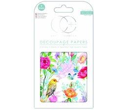 Craft Consortium Garden Delights Decoupage Papers (CCDECP345)