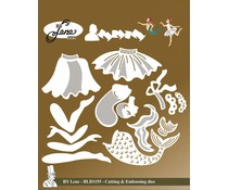 By Lene Fairy Tale 2 Cutting & Embossing Dies (BLD1155)
