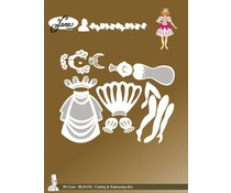 By Lene Fairy Tale 3 Cutting & Embossing Dies (BLD1156)