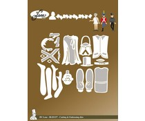 By Lene Fairy Tale 4 Cutting & Embossing Dies (BLD1157)