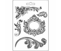 Stamperia Soft Mould A5 Swirls (K3PTA515)