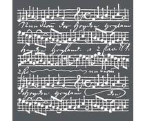 Stamperia Thick Stencil Music Scores (KSTDQ17)