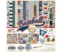 Carta Bella Baseball 12x12 Inch Collection Kit (CBBA95016)