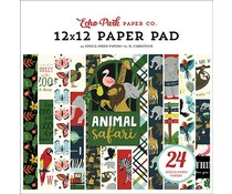 Echo Park Animal Safari 12x12 Inch Paper Pad (ZOO167030)