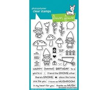 Lawn Fawn Oh Gnome! Clear Stamps (LF1880)