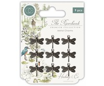 Craft Consortium The Riverbank Dragonfly Charms (CCMCHRM003)
