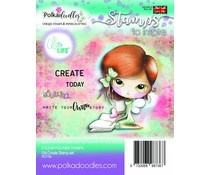 Polkadoodles Ula Create Clear Stamps (PD7708)