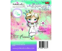 Polkadoodles Ula Be a Princess Clear Stamps (PD7709)