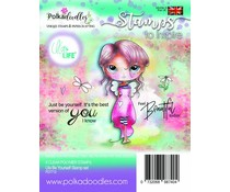 Polkadoodles Ula Be Yourself Clear Stamps (PD7712)