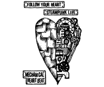 Stamperia Natural Rubber Stamps Mechanical Heart (WTKAT04)