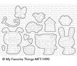 My Favorite Things Cute Critters Die-Namics (MFT-1490)