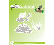 By Lene Mole Cutting & Embossing Dies (BLD1164)
