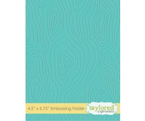Taylored Expressions Woodgrain Embossing Folder (TEEF17)