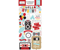 Echo Park Magical Adventure 2 6x13 Inch Chipboard Accents (MAG177021)