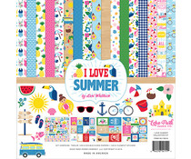 Echo Park I Love Summer 12x12 Inch Collection Kit (SU178016)